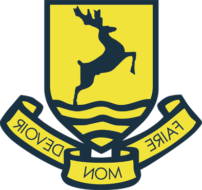 school logo shield